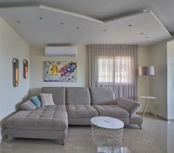 Ceiling design in the living room, עיצוב תקרת גבס בסלון
