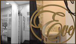 Iron logo design for boutique