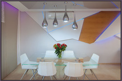 Dining area wall decoration