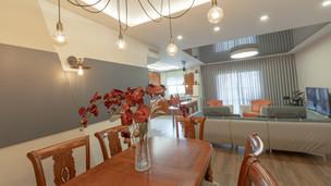 Hexagon Lake-apartment interior design in Hadera
