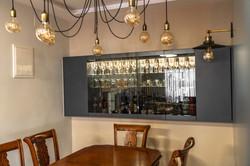 Bar as a wall decoration