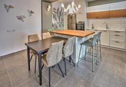 Kitchen sitting area, אי במטבח