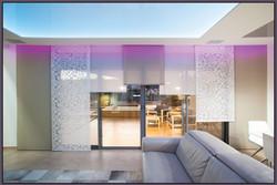 Living Room Panel Curtains design