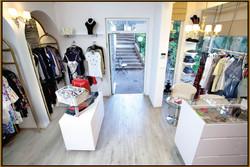 Boutique store entrance area