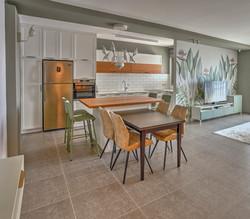 Kitchen area, עיצוב מטבח