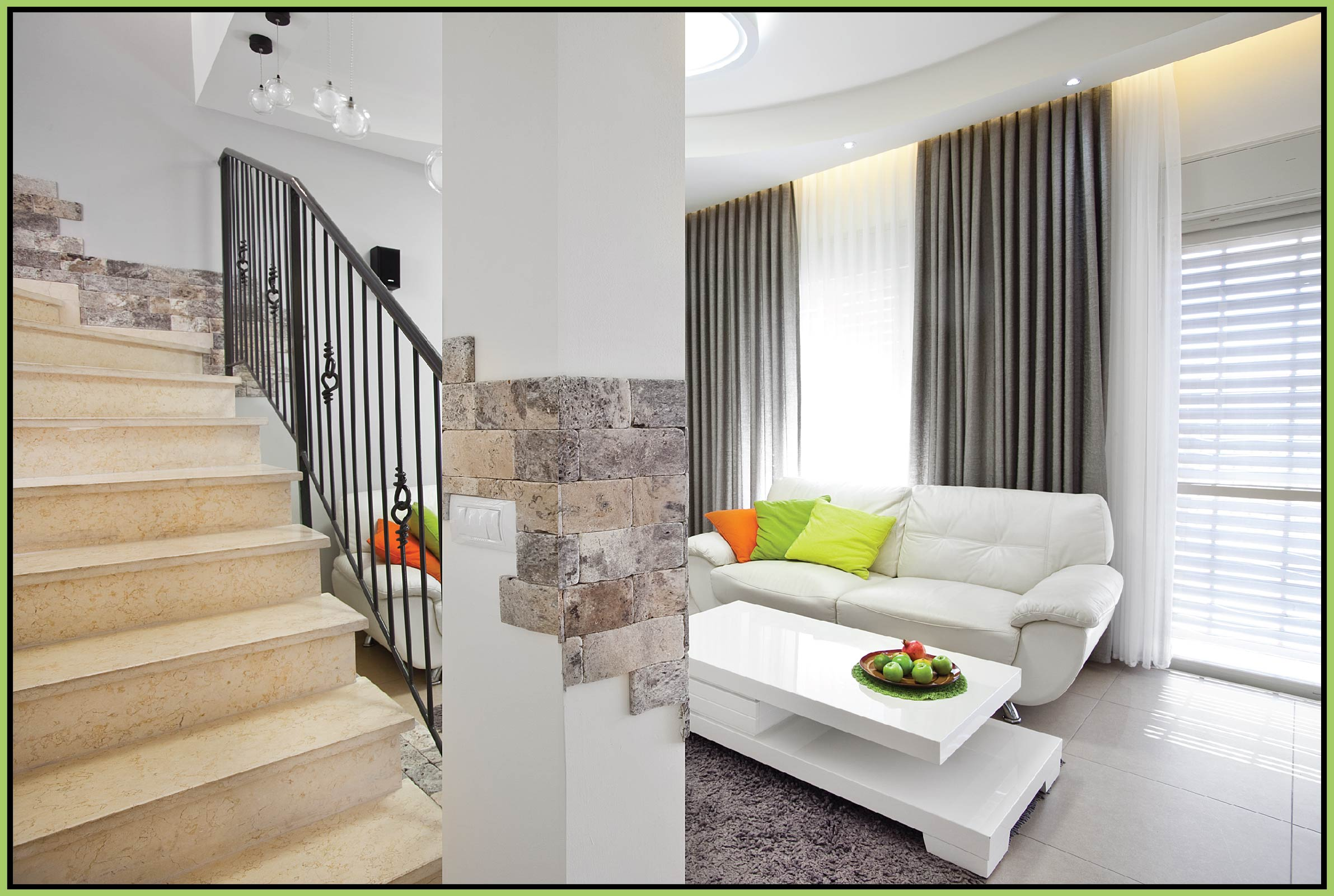 Stairs in the living room