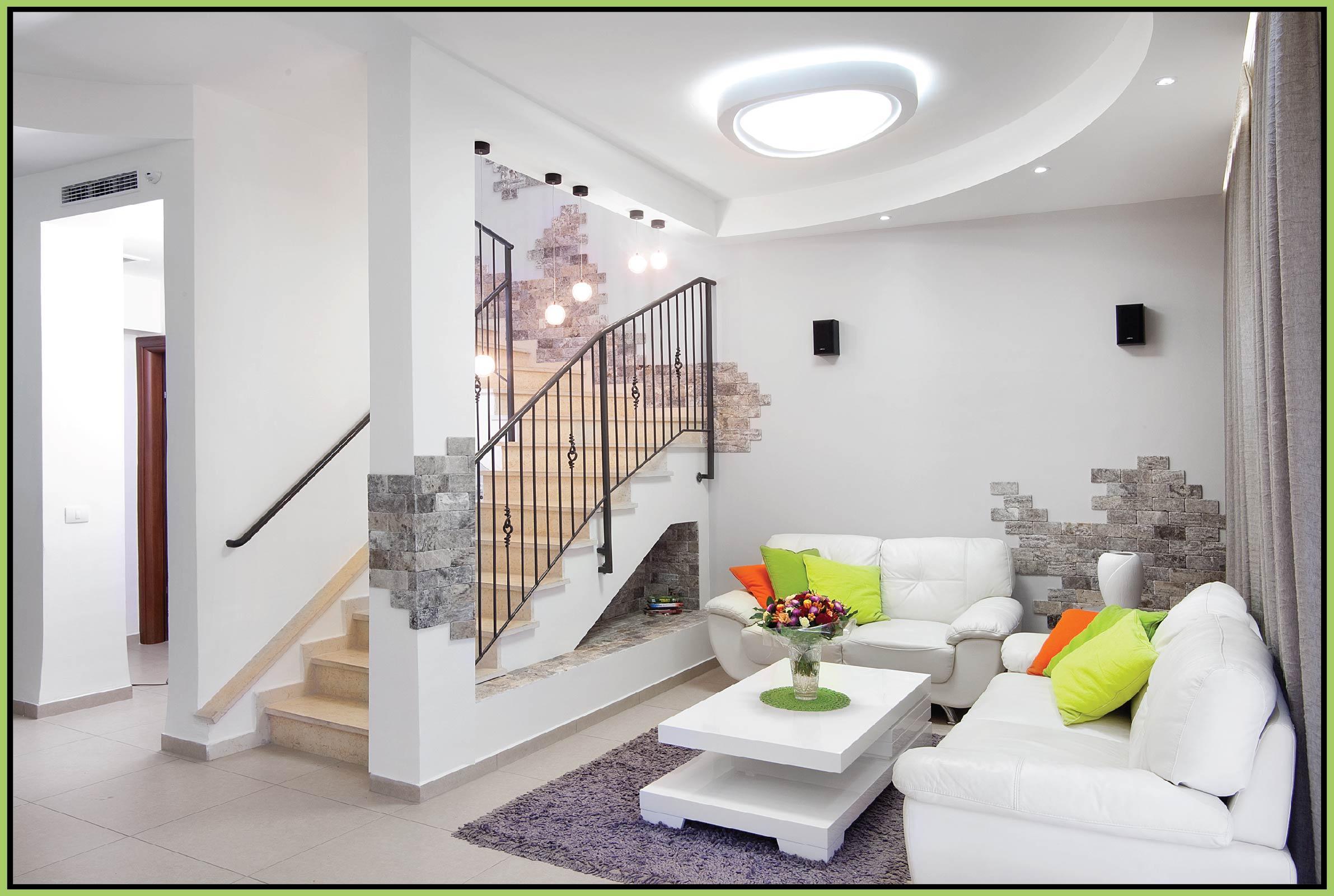 Niche design under the stairs