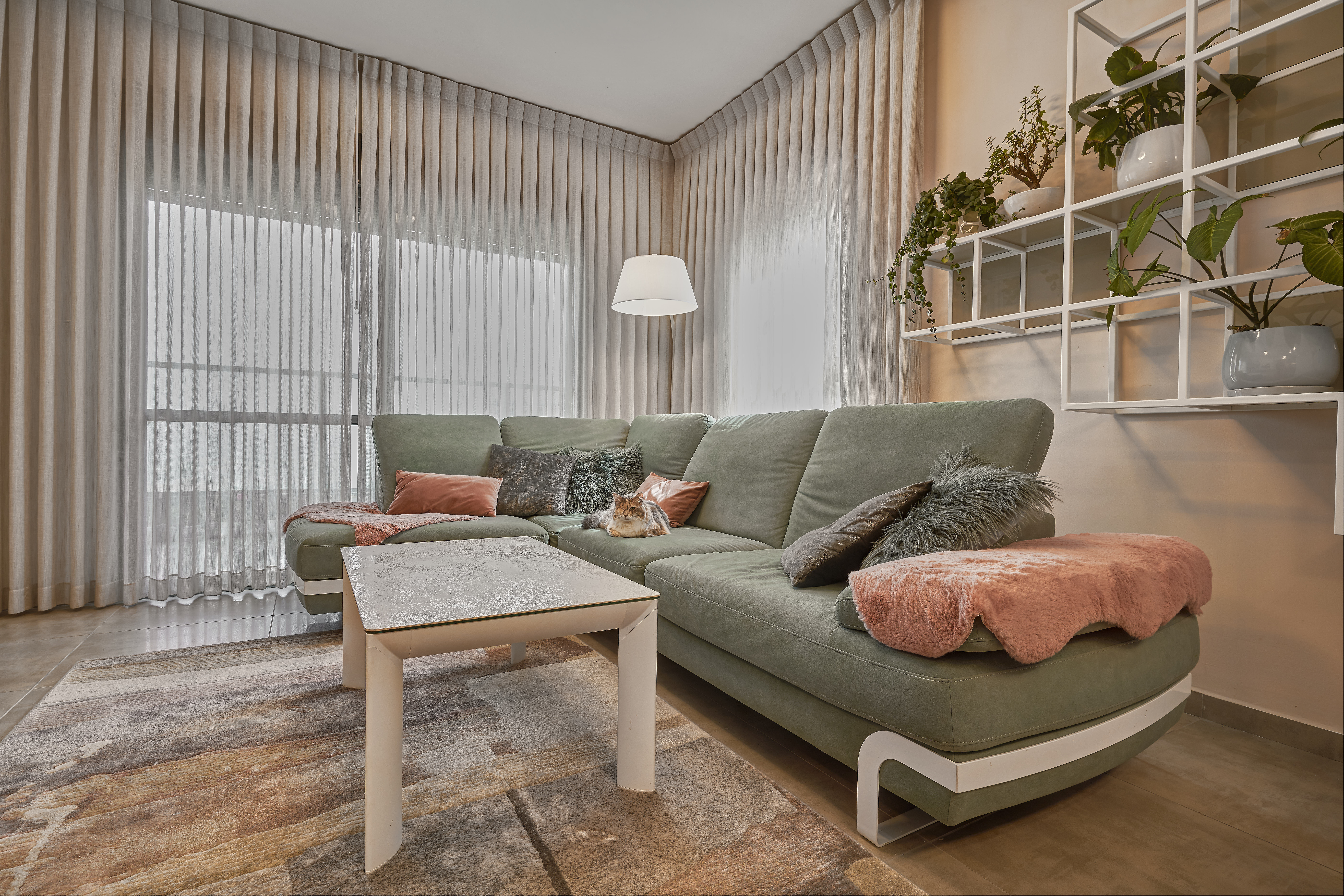 Curtains Design, עיצוב וילונות בסלון