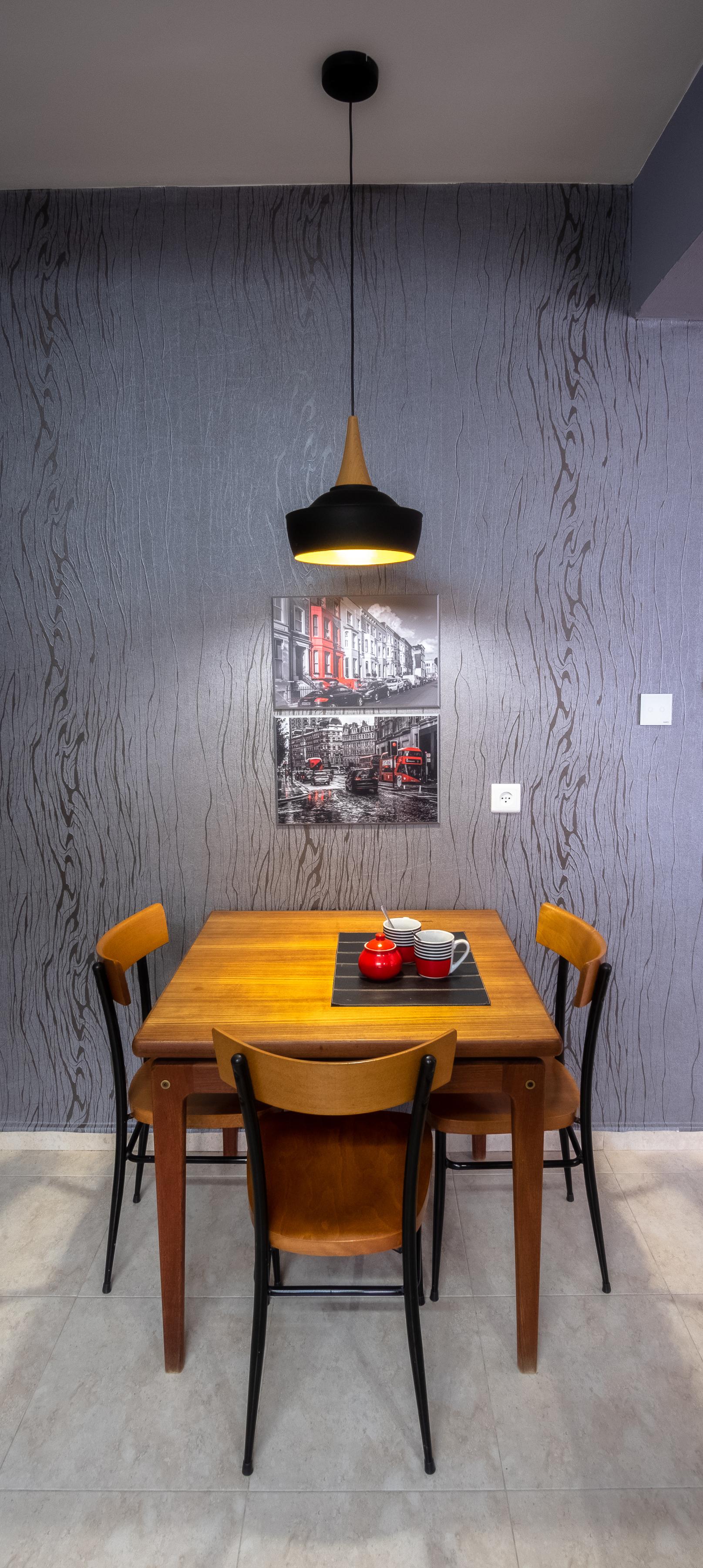 Kitchen wall design
