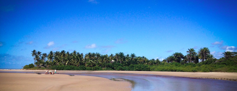 Praia há dois Kms do espaço