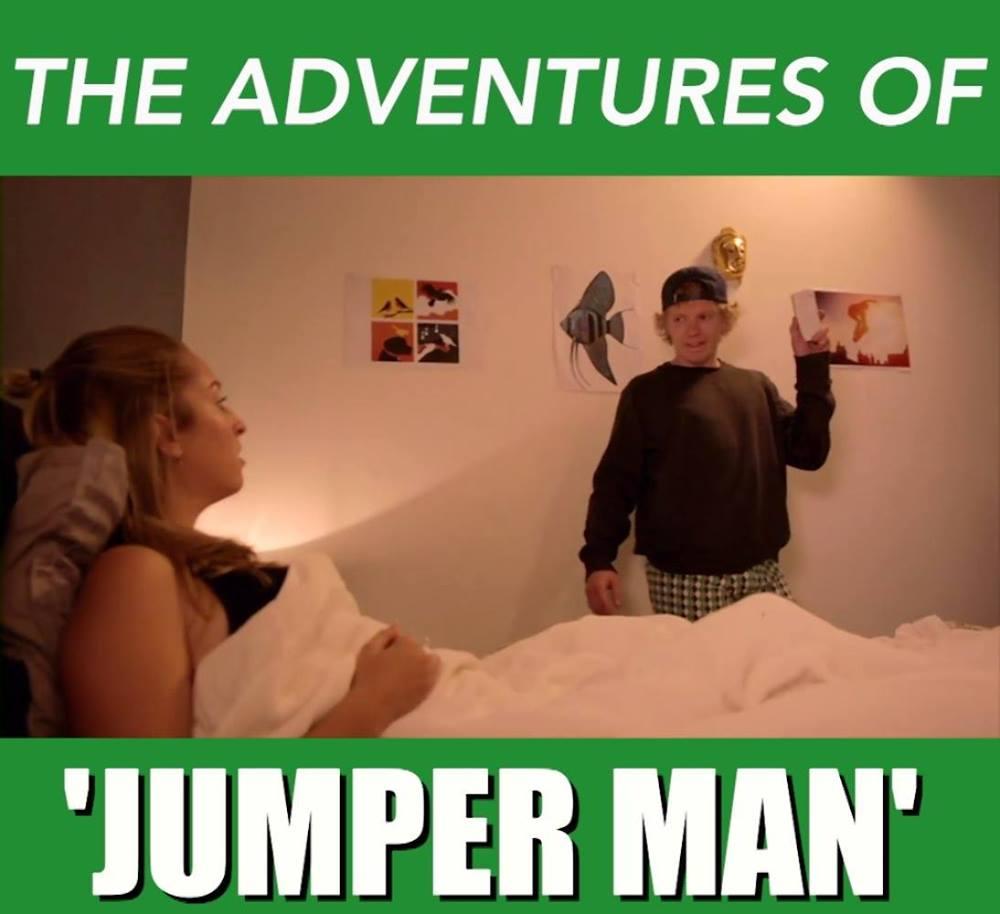 THE ADVENTURES OF 'JUMPER MAN'