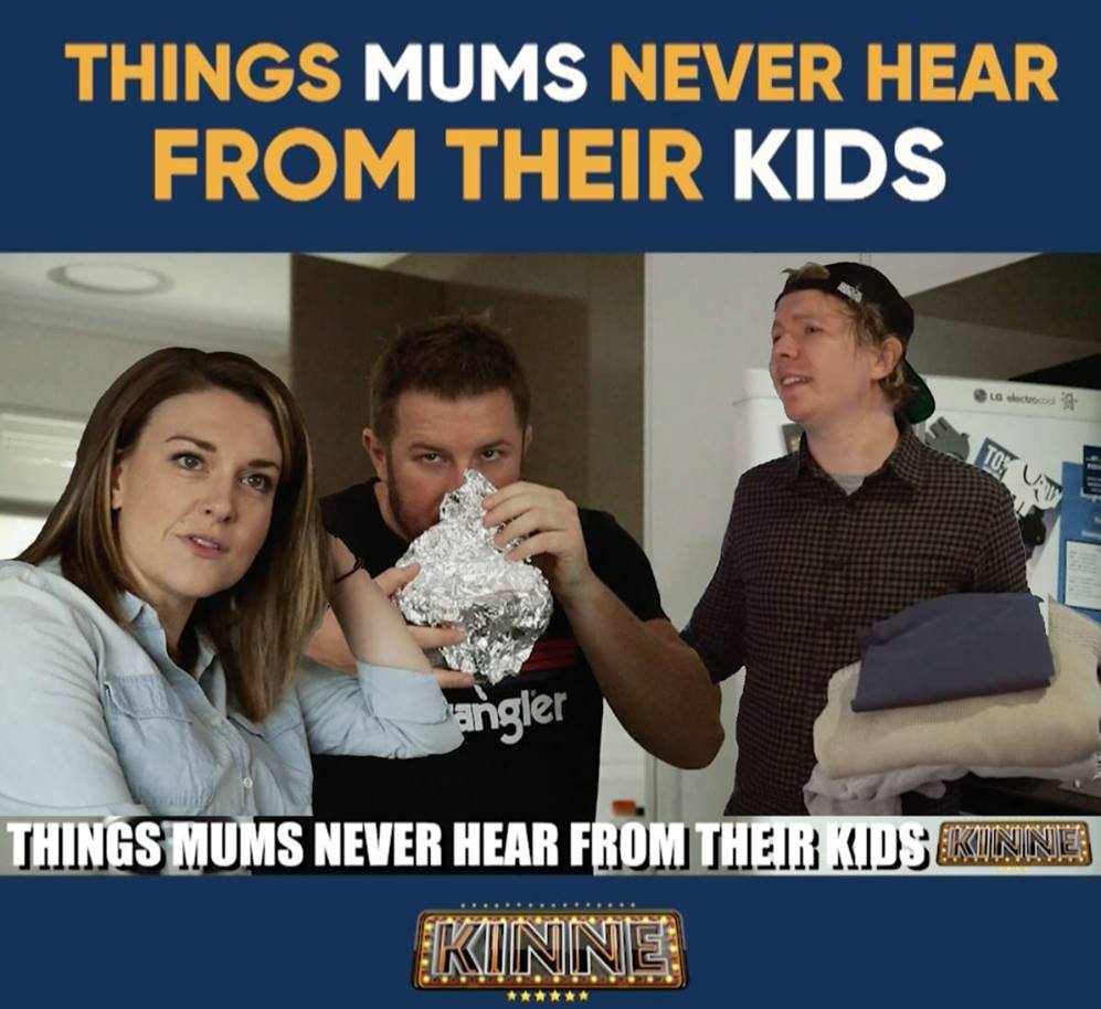 THINGS MUMS NEVER HEAR FROM THEIR KIDS