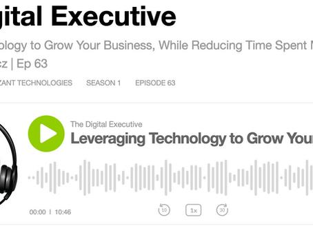 Webtalk in the News: The Digital Executive Podcast
