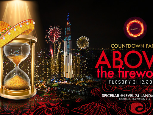 WATCH THE NEW YEAR'S FIREWORKS WITH A FULL 360 DEGREE VIEW OF SAIGON AT THE HIGHEST BUILDING IN VIET