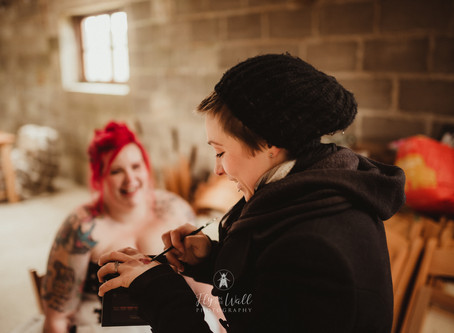Dark Fairytale inspired Wedding Shoot