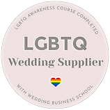 LGBTQ inclusive wedding supplier