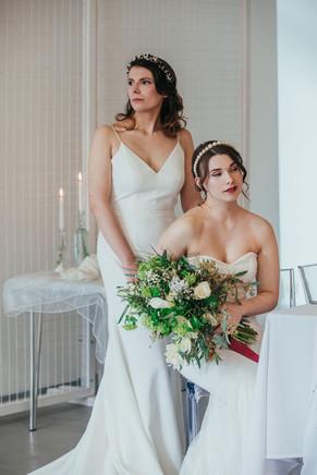 Bridal Hair and Creative Makeup