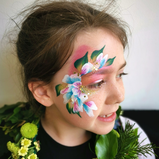 Flower Face Paint