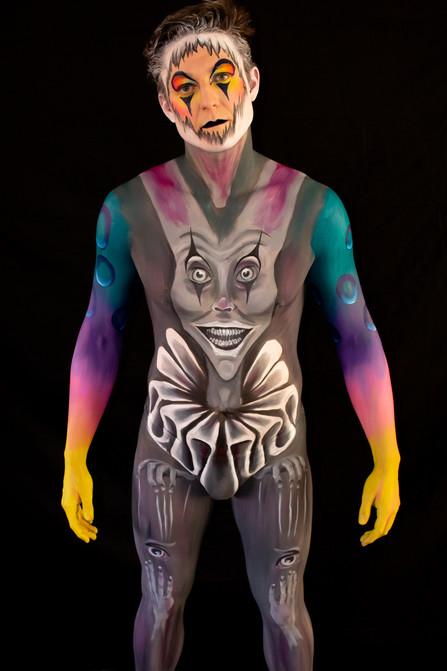 Clown Body Paint
