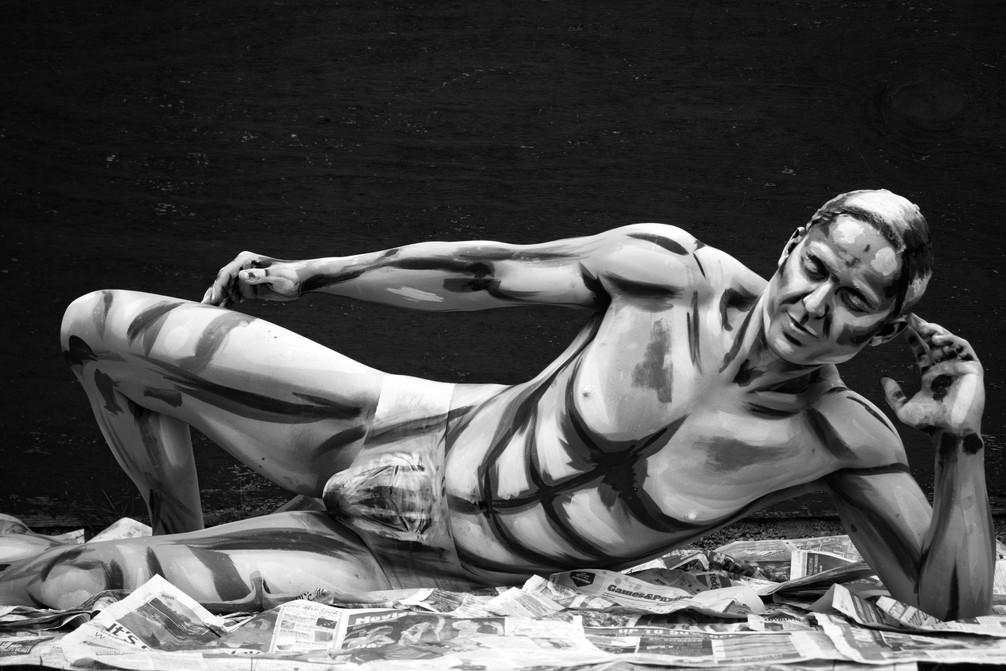 Pop Art Body Paint