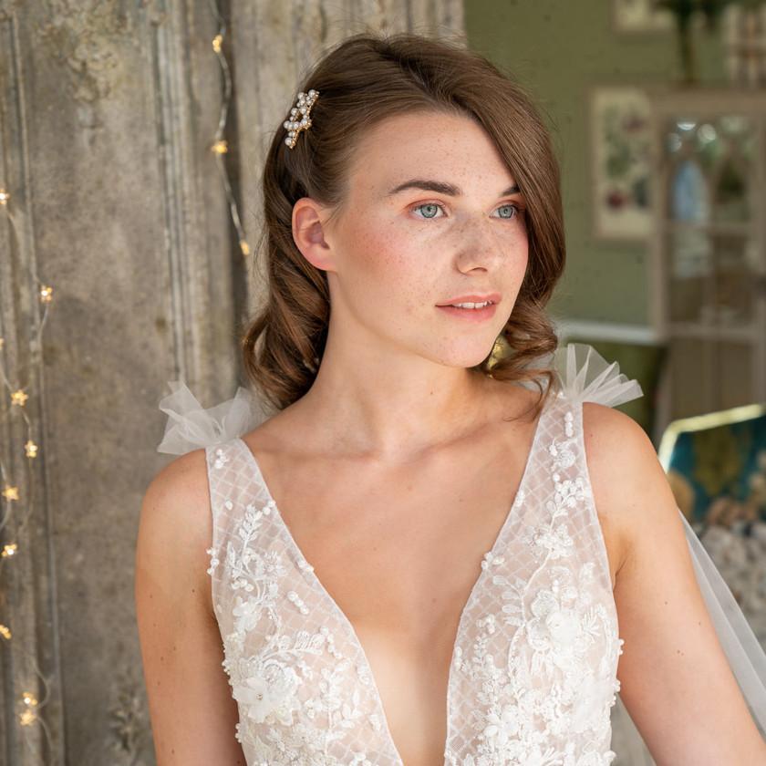 NAtural Bridal Makeup with Soft Curls, Mazz Loxton, Hair and Makeup Artistry, Sheffield
