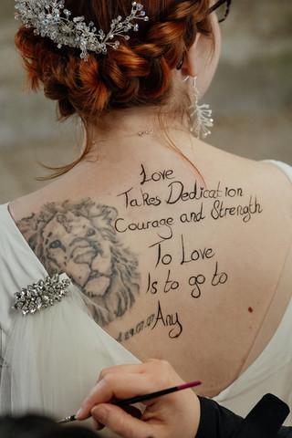 Bridal Body Art