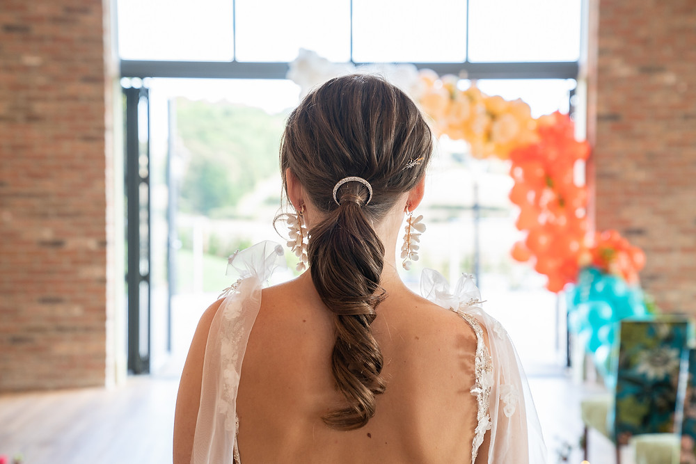 Bridal Hair Styling,  Mazz Loxton, Hair and Makeup Artistry, Sheffield
