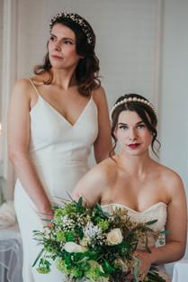 Minimalist, Sleek Wedding Hair and Makeup, Mazz Loxton, Hair and Makeup Artistry, Sheffield