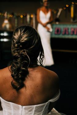 Boho Wedding Hair Styling