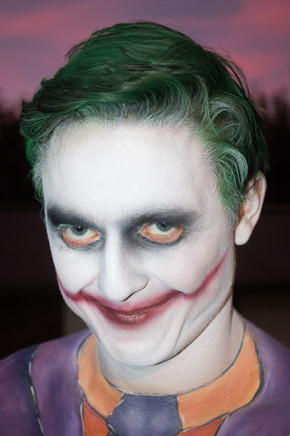 Adult Joker Airbrush Face Paint