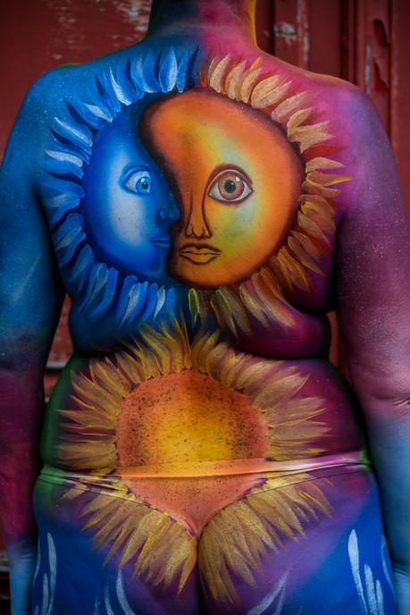Summer Solstice Body Art