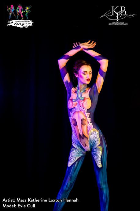 Magic inspired Body Paint