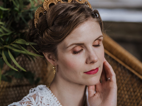Do I have to wear Heavy Makeup for my Wedding?
