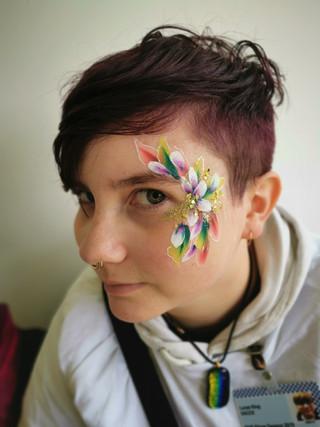 Adult Flower Face Paint