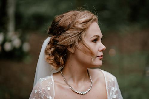 Boho Bridal Hair Styling