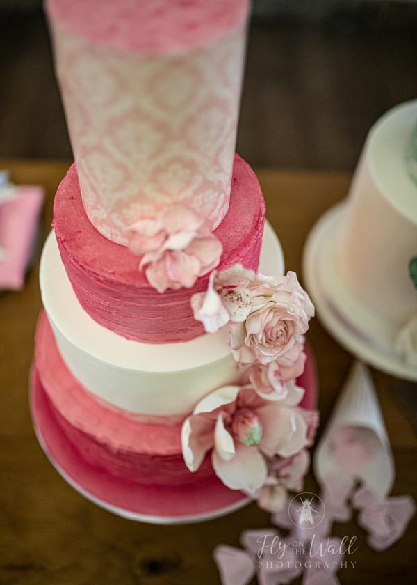 Marie Antoinette inspired Wedding in Sheffield. Wedding Cake
