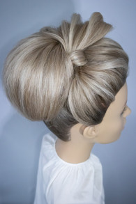 Bow inspired Bridal Hair Styling. Mazz Loxton, Hair and Makeup artistry, Sheffield