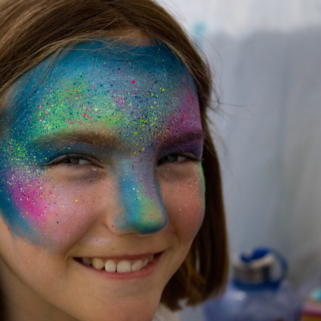 Galaxy Face Paint