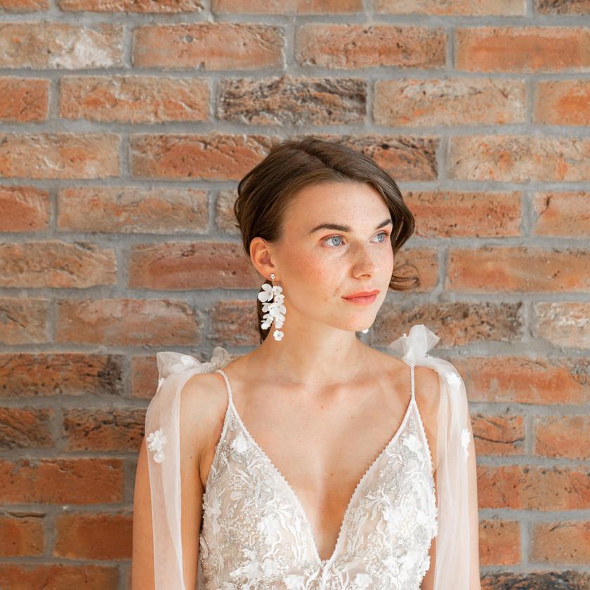 NAtural Bridal Makeup with Textured Boho Ponytail, Mazz Loxton, Hair and Makeup Artistry, Sheffield