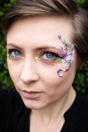 Festival Face Paint and Glitter
