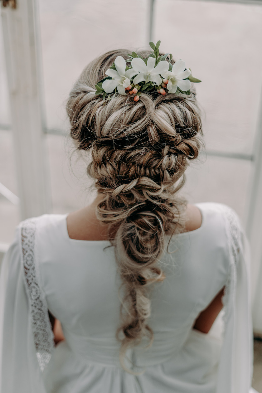 Twisted and Braided Bridal Hair Styling, Sheffield