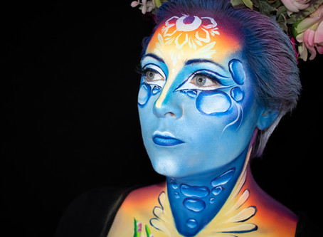World Body Painting Festival Face Painting Competition