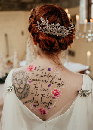 Bridal Body Art