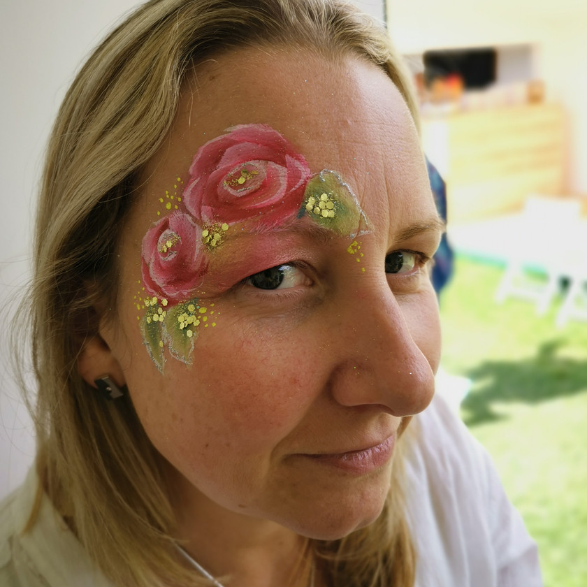 Top 5 flower Face Paints