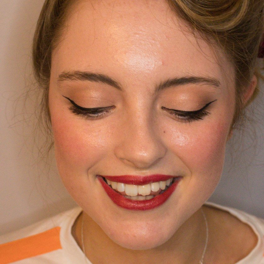 Natural Vintage Inspired Makeup, Mazz Loxton, Hair and Makeup Artistry