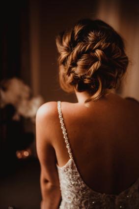 Textured Wedding Hair