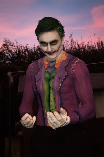 The Joker Body Paint