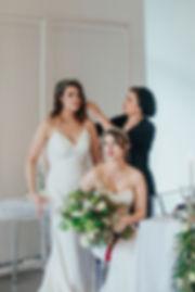 Wedding Hair and Makeup, Behind the Scenes