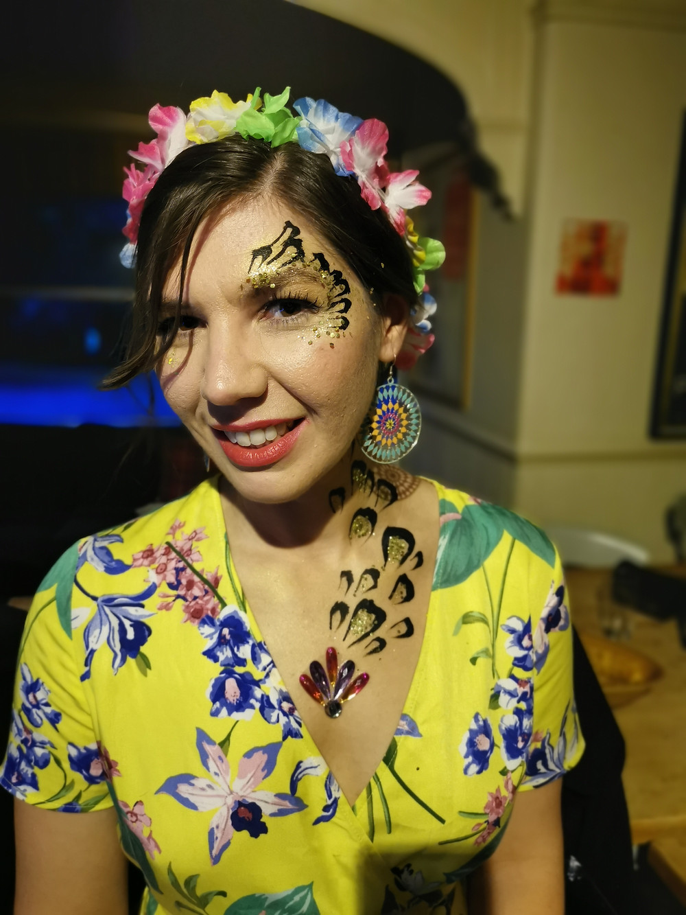 The Mobile Painting Parlour, Sheffield Face Painter and Body Artist