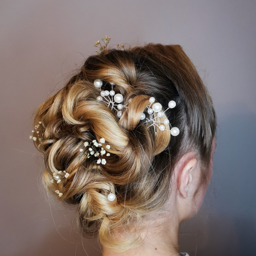 Vintage/Boho inspired Bridal Hair, Mazz Loxton, Hair and Makeup Artistry